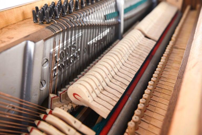Louis Zwicki Midcentury Danish Teak Pianette 14