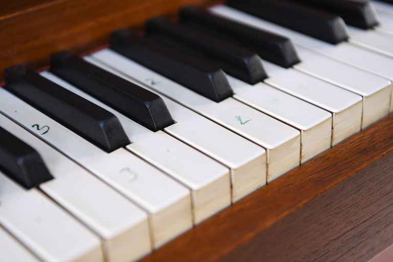 Mid-Century Modern Louis Zwicki Midcentury Danish Teak Pianette