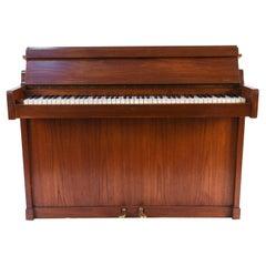 Louis Zwicki Midcentury Danish Teak Pianette