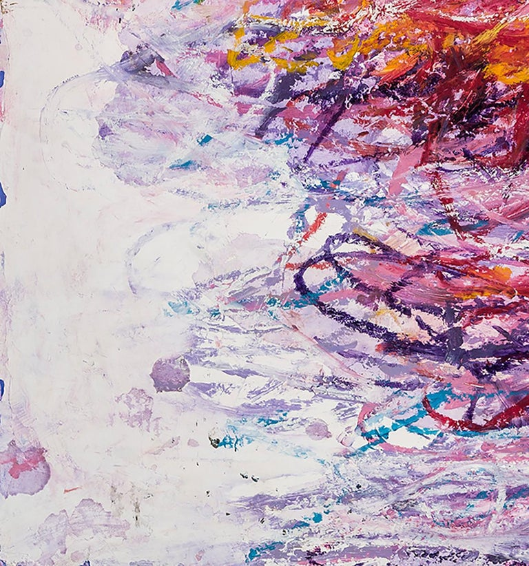 Untitled  - Painting by Louisa Chase