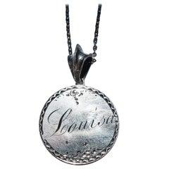 """Louisa"" Vintage Victorian Love Token Necklace"
