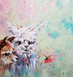 Dali Llama, Painting, Acrylic on Canvas