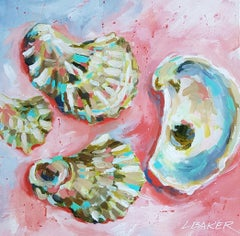 Oysters, Painting, Acrylic on Canvas