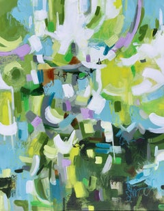 Promise Of Spring, Painting, Acrylic on Canvas
