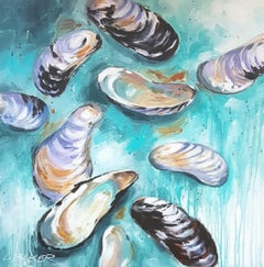 Shells, Painting, Acrylic on Canvas