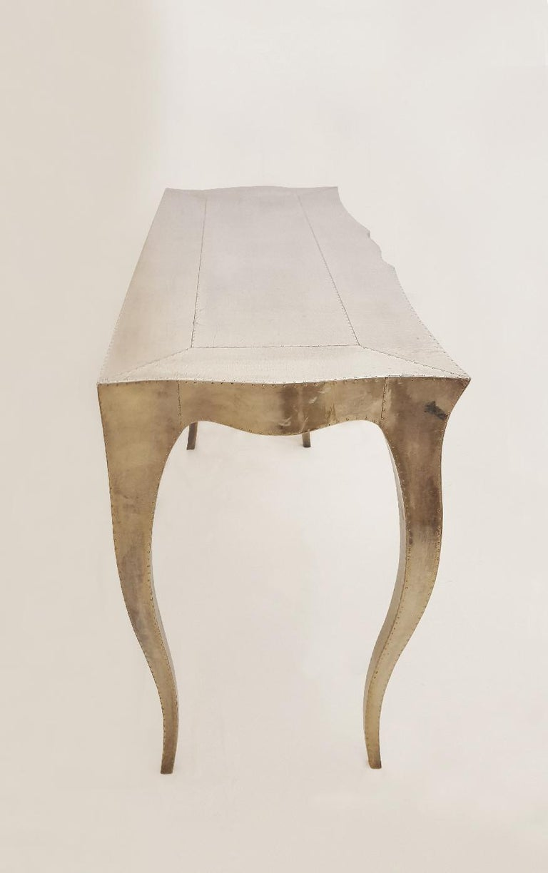 Hand-Carved Louise Console Table by Paul Mathieu for Stephanie Odegard For Sale