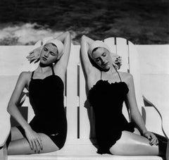 Twins at the Beach, Harper's Bazaar