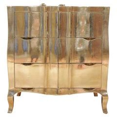 Louise Dresser in White Metal Over Teak by Paul Mathieu for Stephanie Odegard