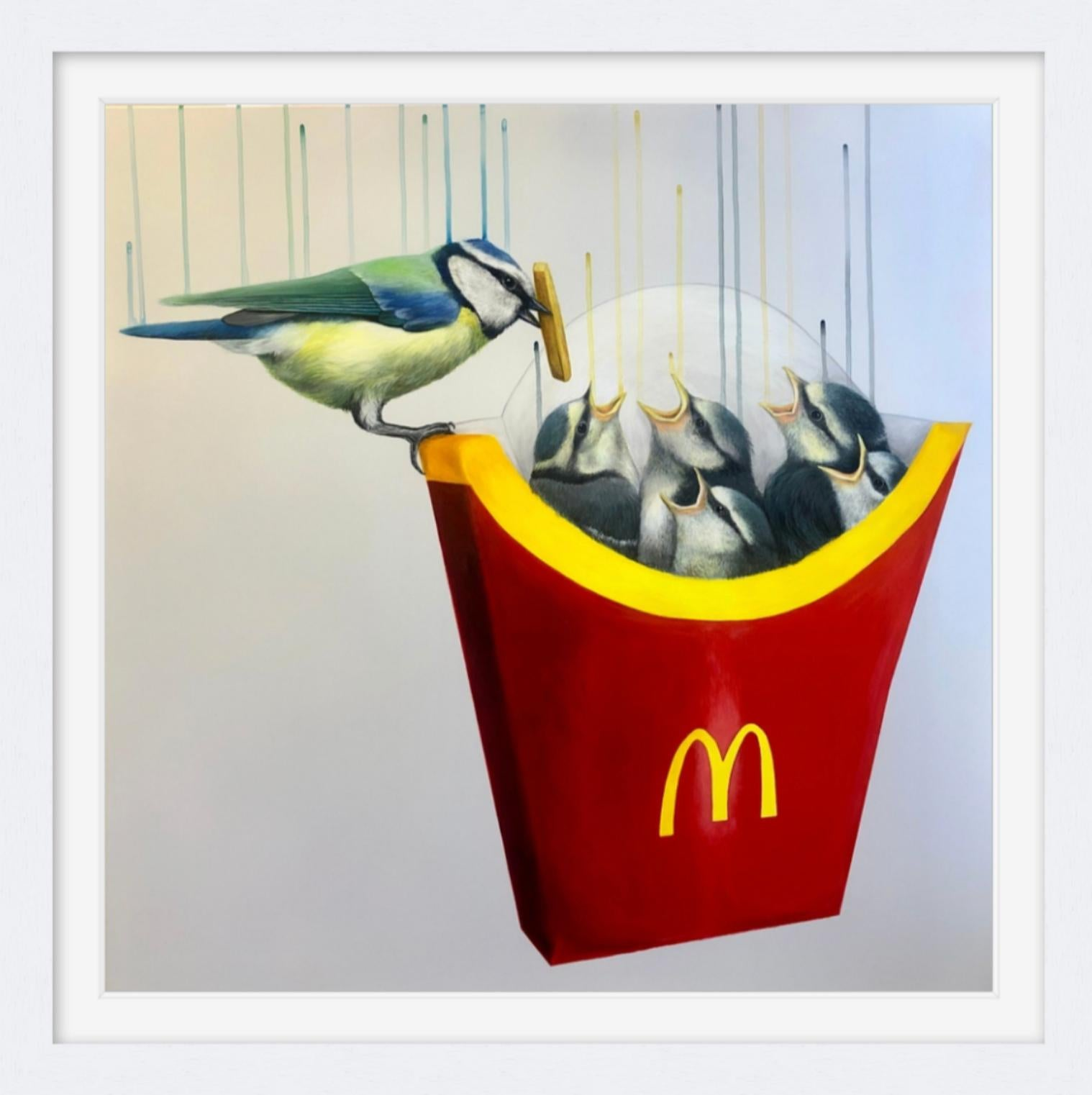 Instant Gratification by Louise McNaught - Contemporary Limited edition Print