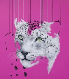 Louise McNaught, One Last Look, Animal Art, Contemporary Print, Current Art