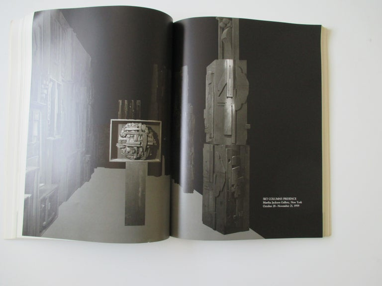 Modern Louise Nevelson Atmospheres and Environments Book For Sale