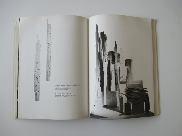 North American Louise Nevelson Atmospheres and Environments Book For Sale