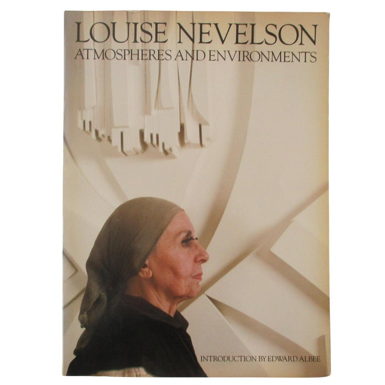 Louise Nevelson Atmospheres and Environments Book For Sale