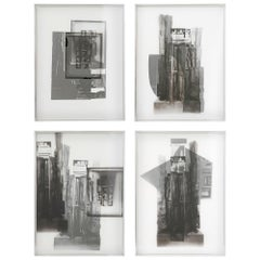 """Louise Nevelson """"Facades"""" Four Works"""