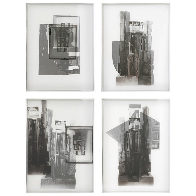 """Louise Nevelson """"Facades"""" Four Works For Sale"""
