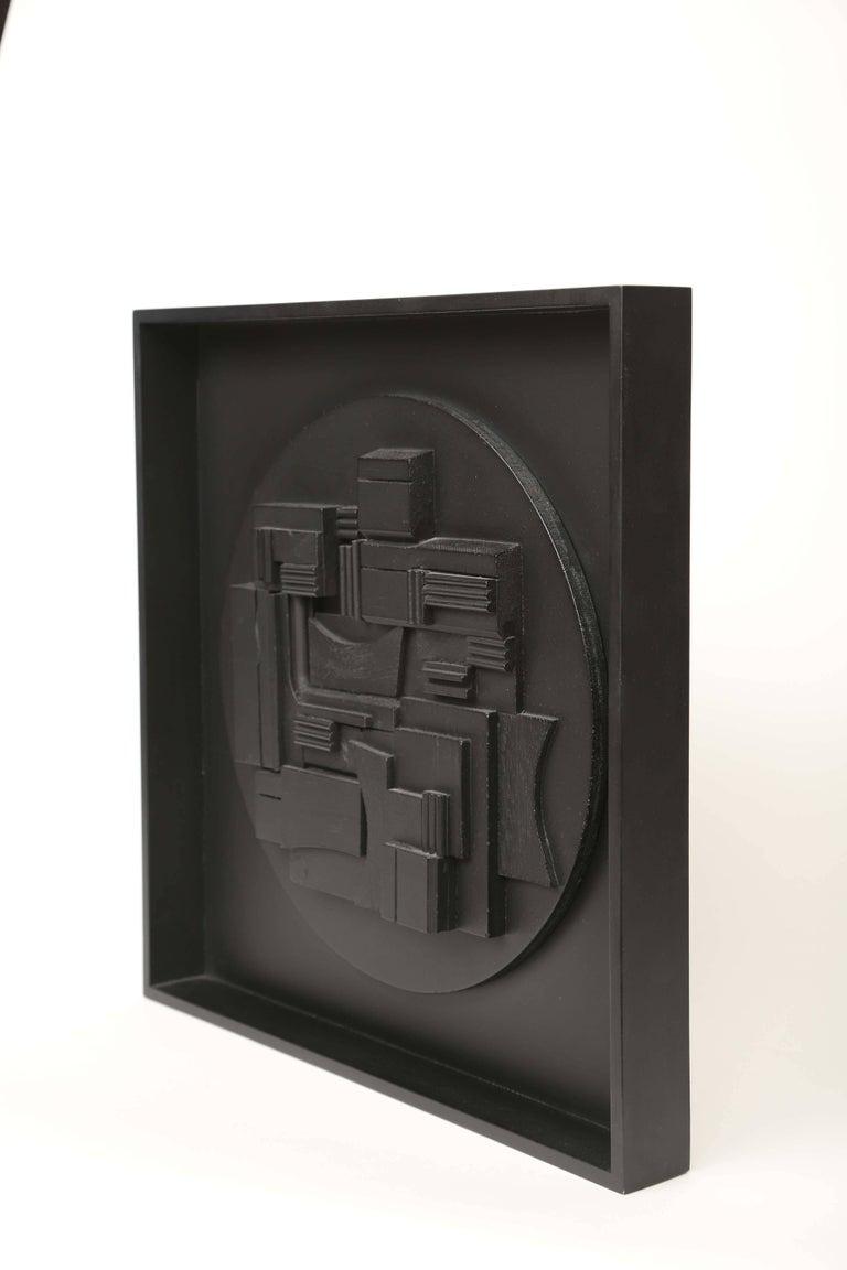 Louise Nevelson wall sculpture