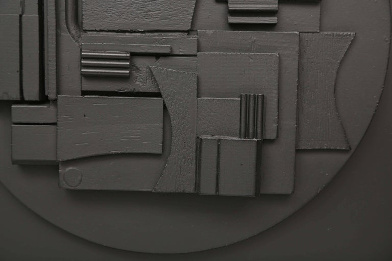 Painted Louise Nevelson