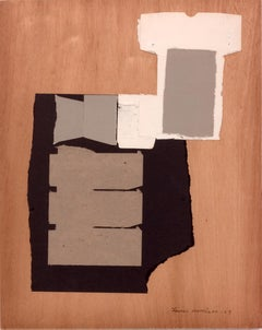 Louise Nevelson, Untitled Collage on Board, 1969