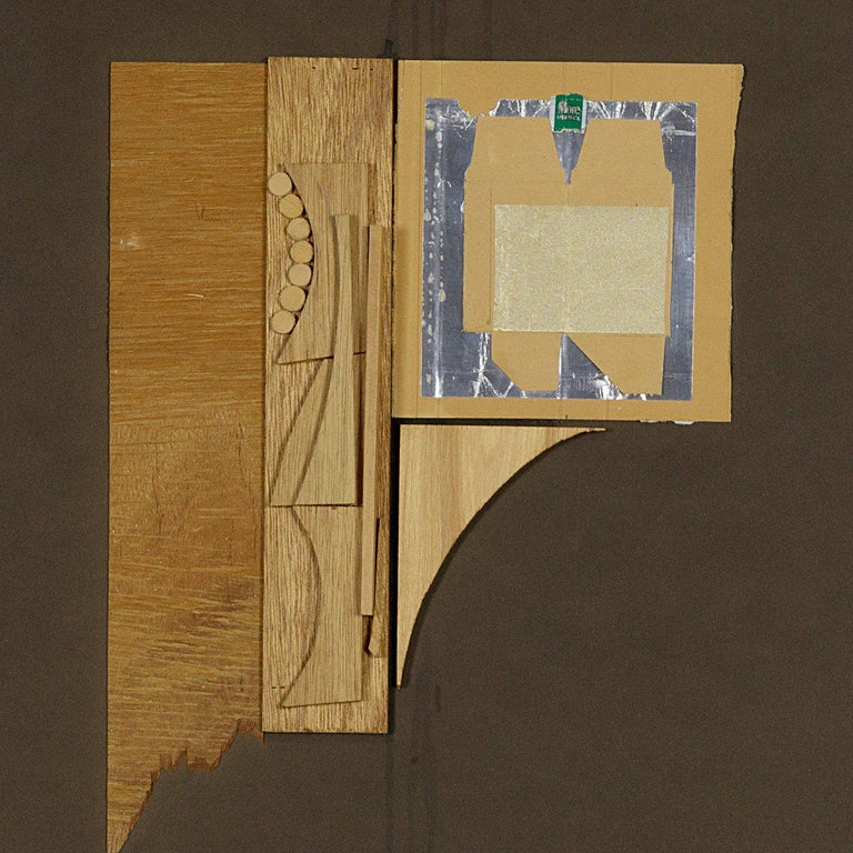 Untitled  - Post-War Mixed Media Art by Louise Nevelson
