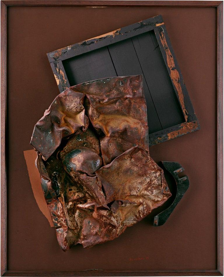 Volcanic Magic XXV - Modern Mixed Media Art by Louise Nevelson