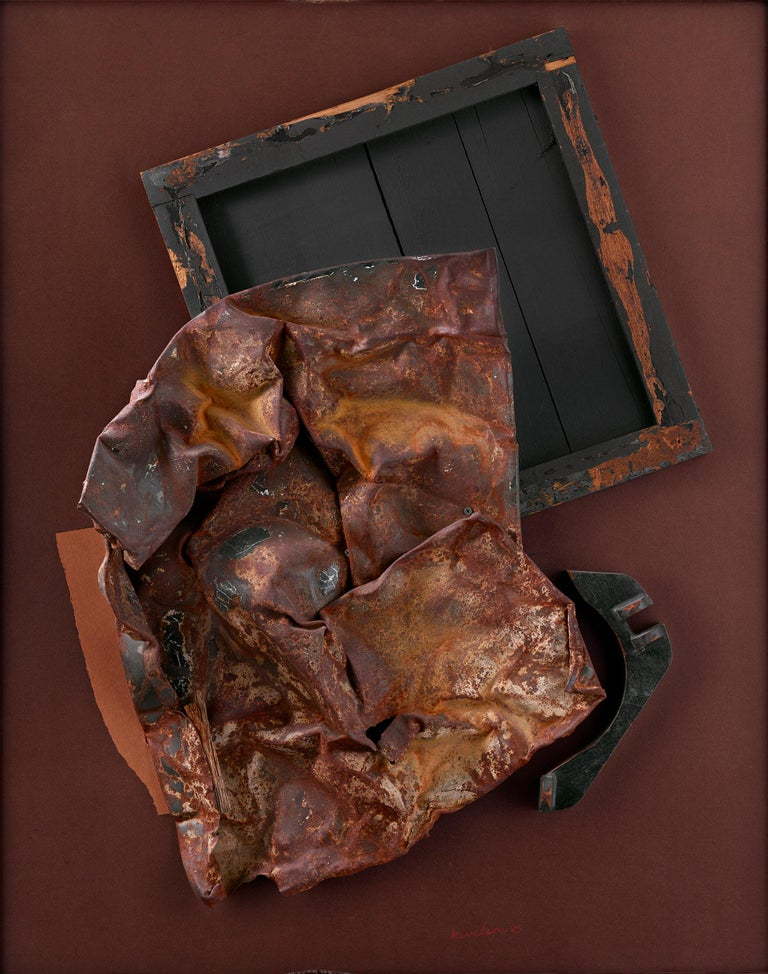Volcanic Magic XXV - Mixed Media Art by Louise Nevelson