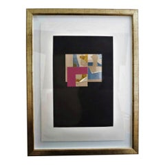 Louise Nevelson Multimedia Print 10/90, 1973