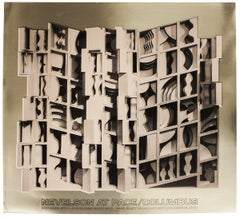 1977 After Louise Nevelson 'At Pace Columbus (Gold)' Contemporary