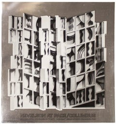 1977 After Louise Nevelson 'At Pace Columbus (Silver)' Contemporary