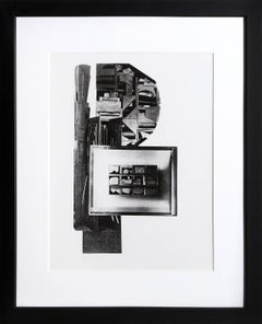 Facades 1, Sculptural Graphic by Louise Nevelson