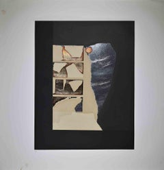 Graphic Presence - Original Etching and Aquatint by Louise Nevelson - 1973