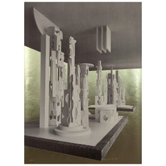 "Louise Nevelson ""Bicentenial Dawn"" 1976"
