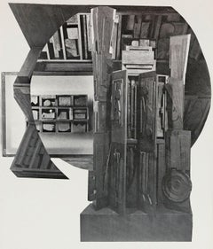 "Louise Nevelson ""Facade"" 1966"