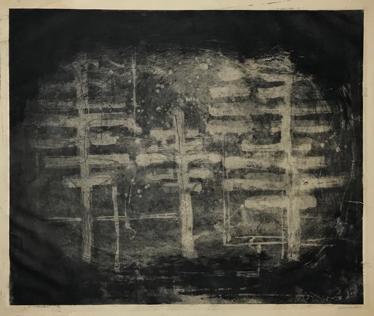 Louise Nevelson Landscape Print -  Trees (Trees in Circle)