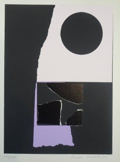 Untitled - 1970s - Louise Nevelson - Serigraph - Contemporary
