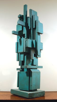 Louise Nevelson, Untitled, painted wood sculpture, 1950s