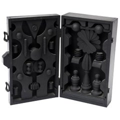 Louise Nevelson Style Dimensional Wood Box Sculpture