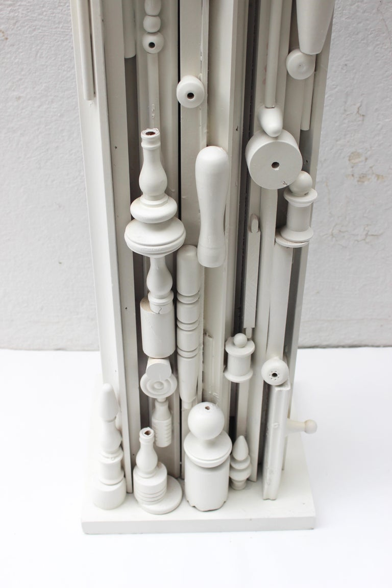 Louise Nevelson Style Floor Lamp For Sale 6
