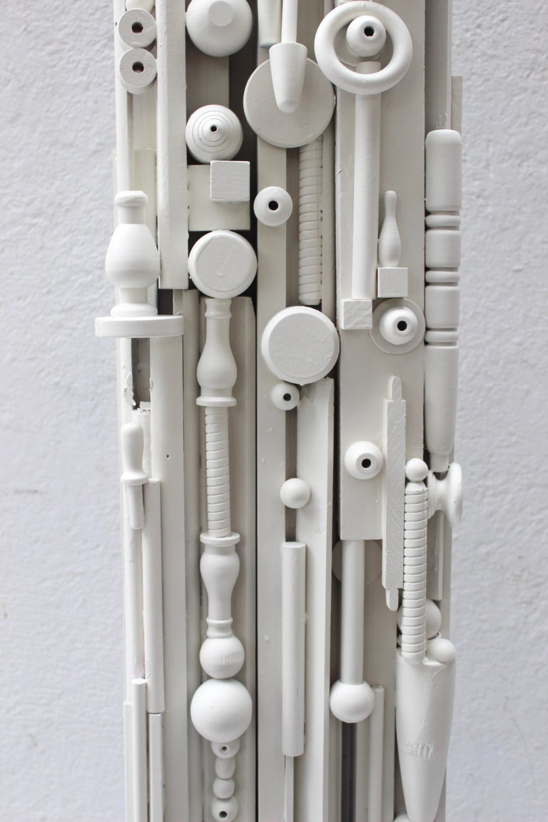 Louise Nevelson Style Floor Lamp For Sale 3