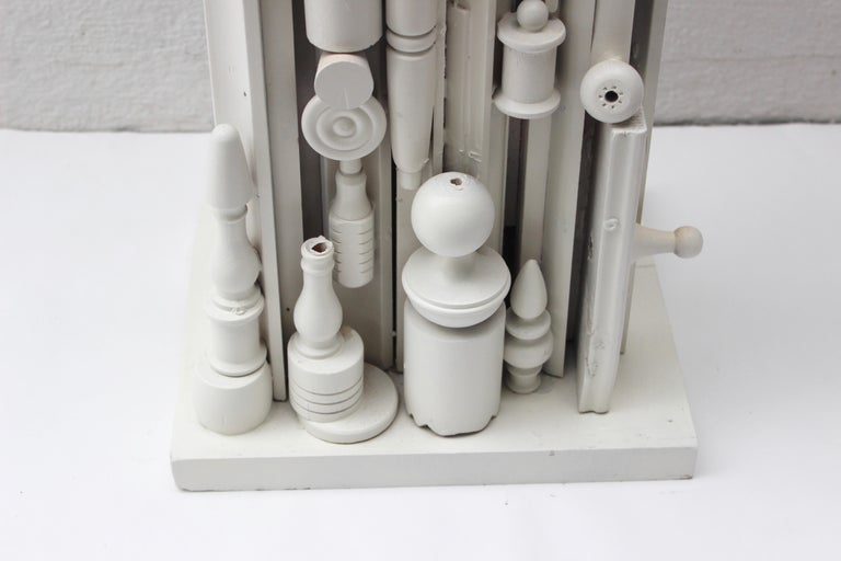 Louise Nevelson Style Floor Lamp For Sale 4
