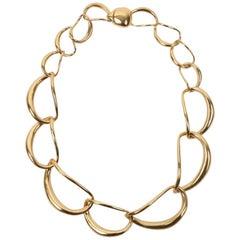 Louise Olsen 24K Gold-Plate Liquid Chain Choker