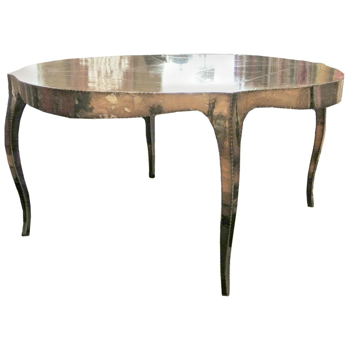 Louise Round Dinning Table by Paul Mathieu for Stephanie Odegard