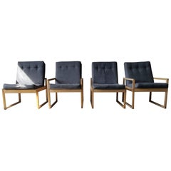 Lounge Armchair Armchairs Chairs by Schlapp Möbel, 1970s