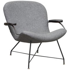 Lounge Armchair by Carlo Hauner and Martin Eisler, Brazilian Midcentury Design