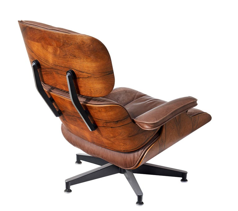 Lounge Chair And Ottoman By Charles And Ray Eames At 1stdibs