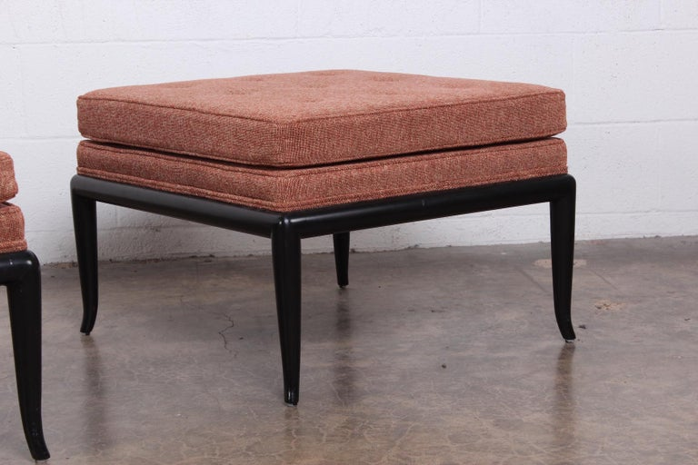 Lounge Chair and Ottoman by T.H. Robsjohn-Gibbings for Widdicomb For Sale 2