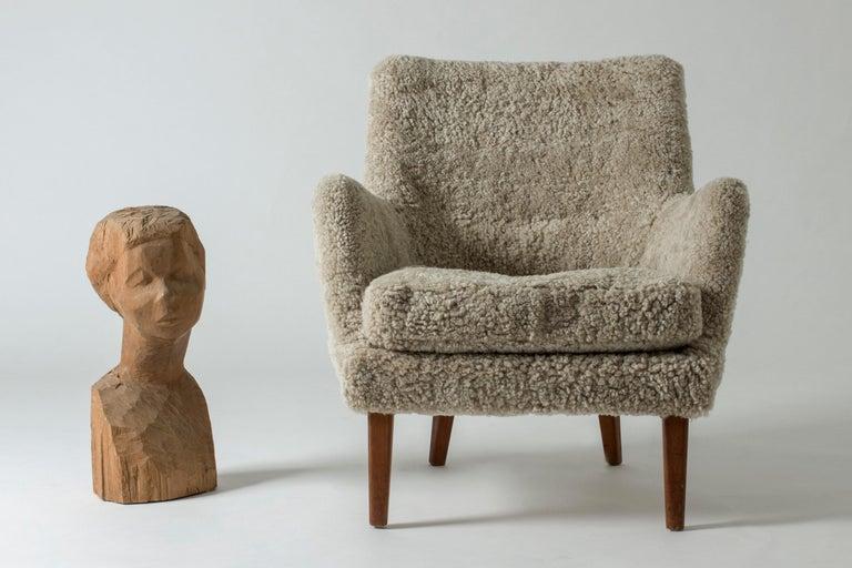 Lounge Chair by Arne Vodder for K. Ivan Schlechter, Denmark, 1950s For Sale 4