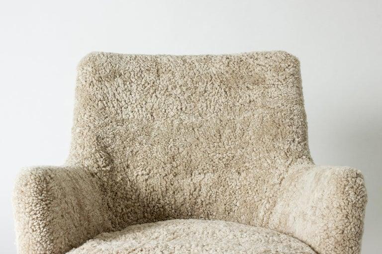 Lounge Chair by Arne Vodder for K. Ivan Schlechter, Denmark, 1950s For Sale 1