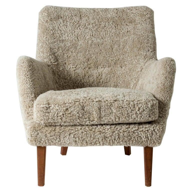 Lounge Chair by Arne Vodder for K. Ivan Schlechter, Denmark, 1950s For Sale