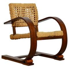 Lounge chair by Audoux Minet for Vibo Vesoul, 1950s
