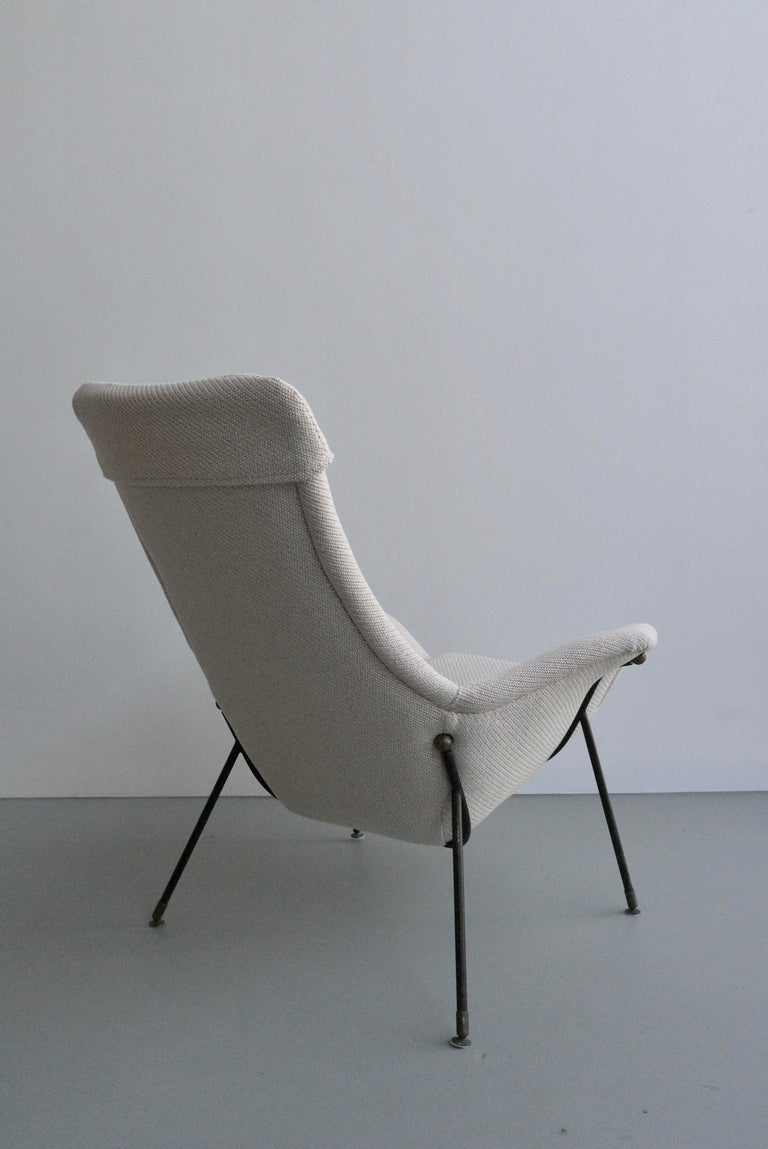 Lounge Chair by Augusto Bozzi for Fratelli Saporiti, Italy, 1950s In Good Condition For Sale In The Hague, NL